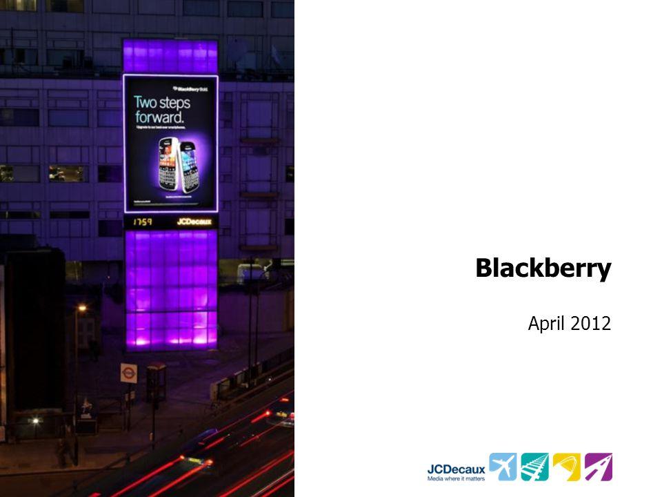 Blackberry April 2012