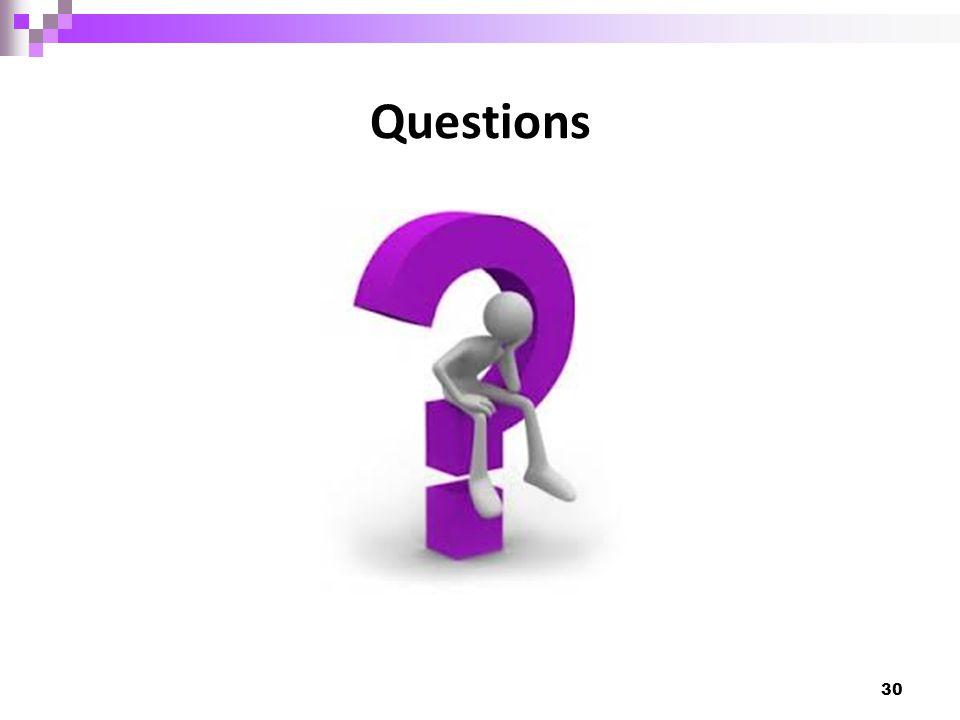 Questions 30
