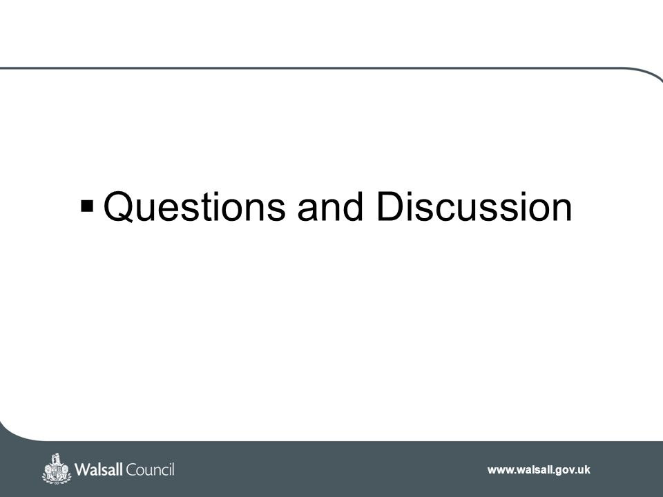 Questions and Discussion