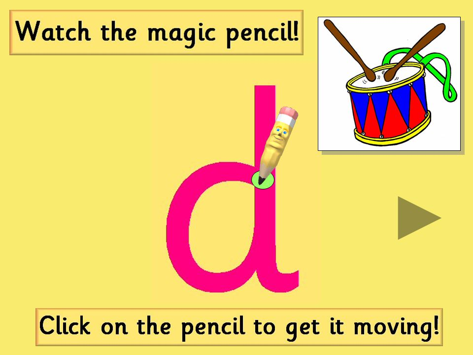 Click here for the 'd' sound