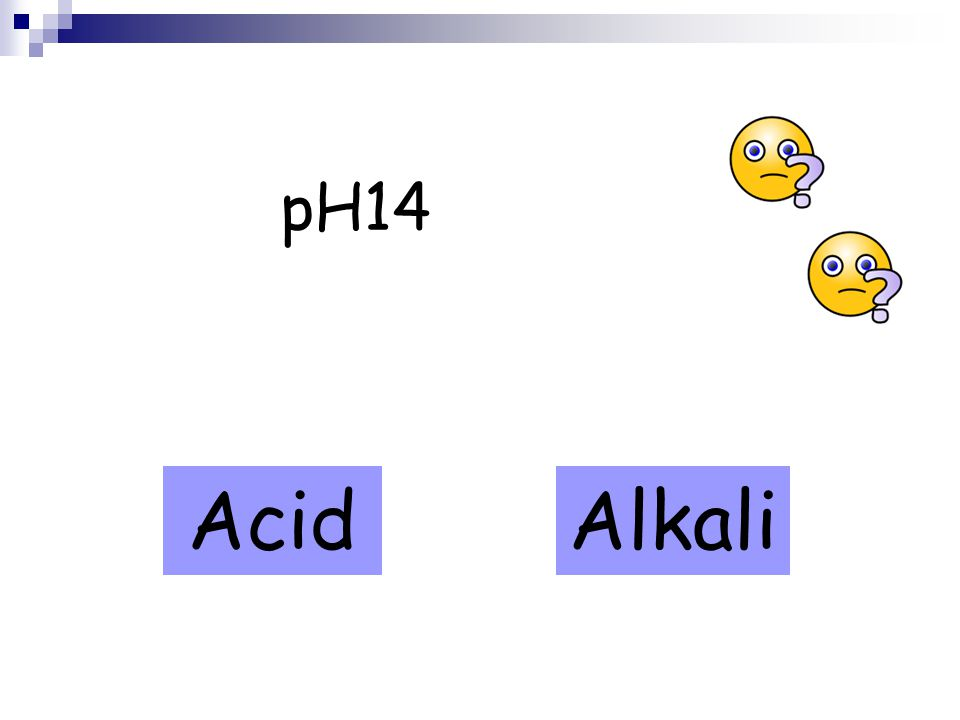 pH14 AcidAlkali