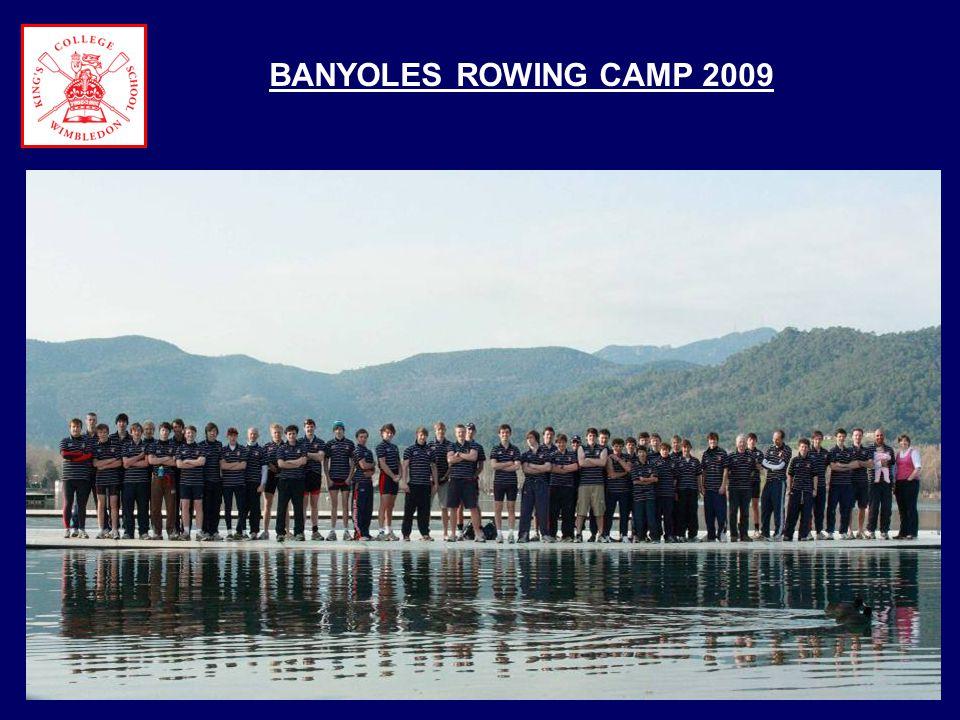 BANYOLES ROWING CAMP 2009