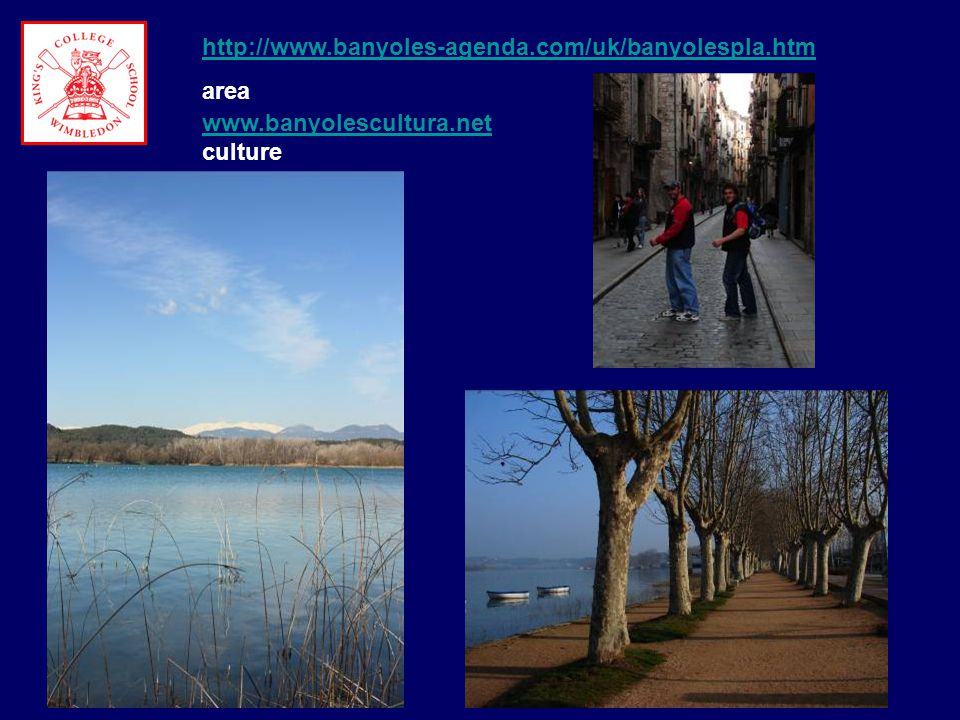OTHER ROWING INSTITUTIONS WHICH HAVE USED BANYOLES Cambridge University Boat Club Leander Club Swiss Rowing Federation.