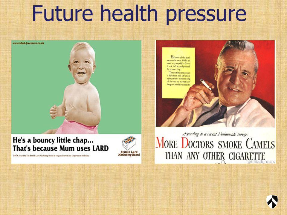 Future health pressure