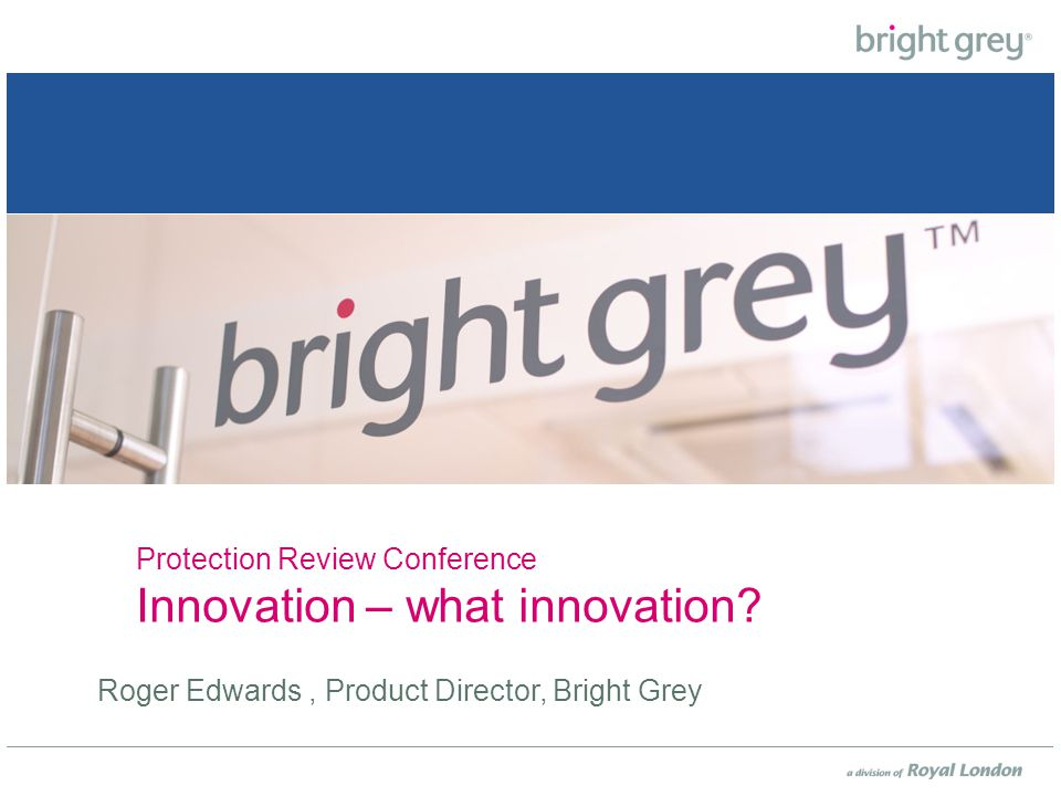 So how innovative are we at the moment? So is it really possible to innovate?