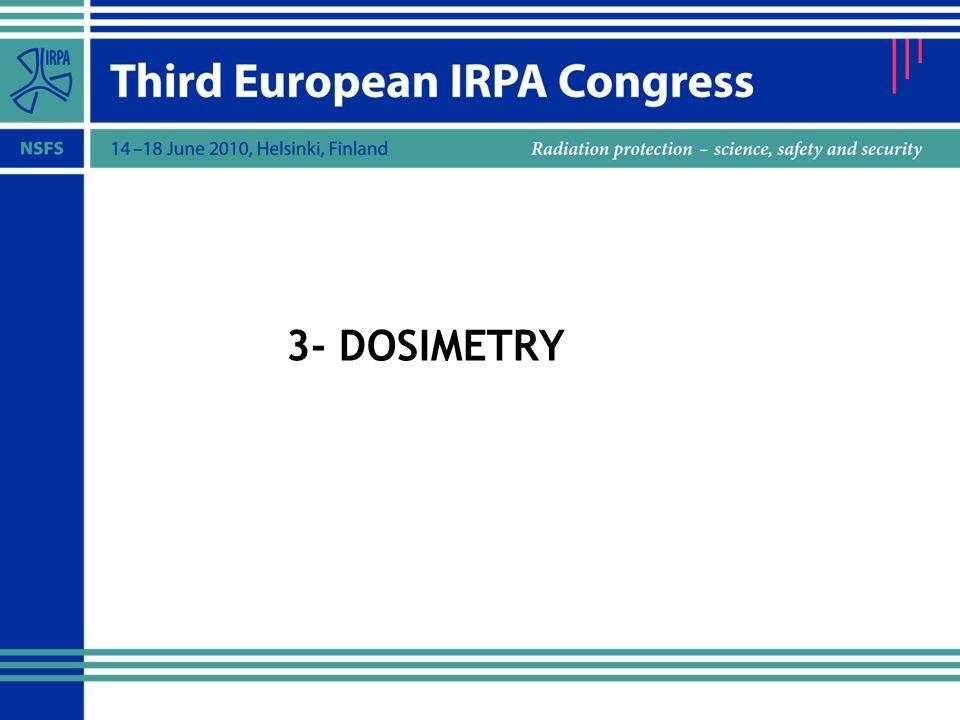 3- DOSIMETRY