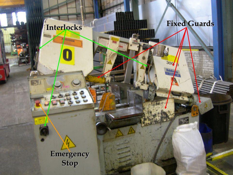 Fixed Guards Interlocks Emergency Stop