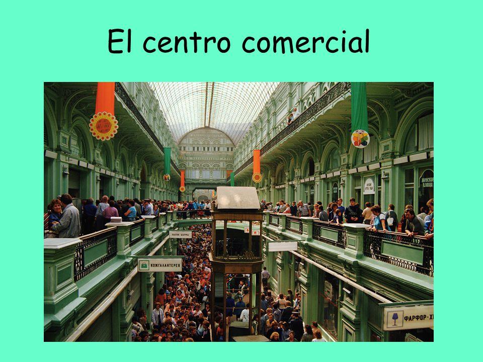 El centro comercial