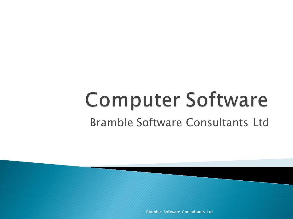 Bramble Software Consultants Ltd