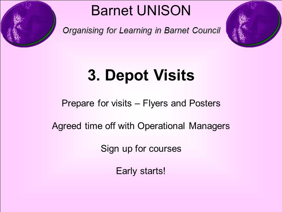 Barnet UNISON Organising for Learning in Barnet Council 3.
