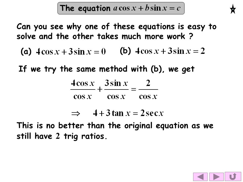 The equation Solutions: for.Solve