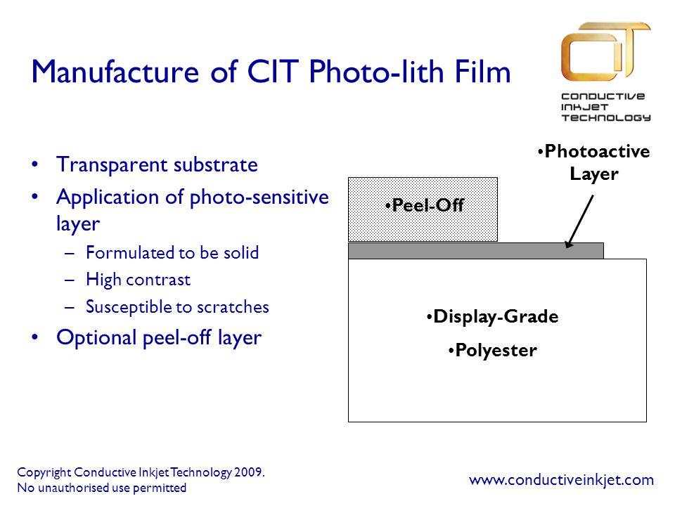 Copyright Conductive Inkjet Technology 2009.