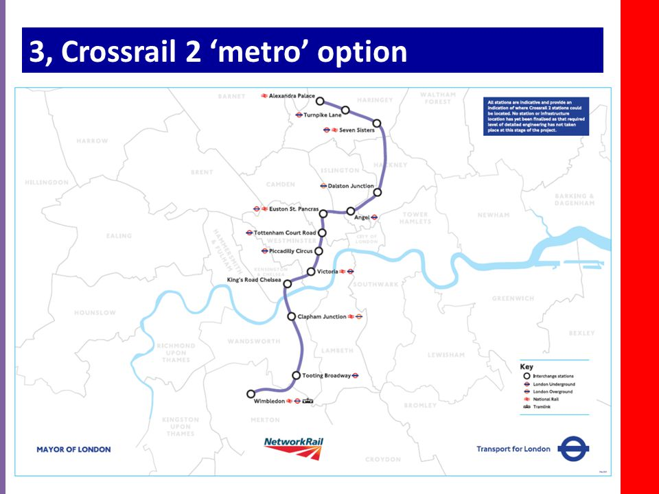3, Crossrail 2 'metro' option