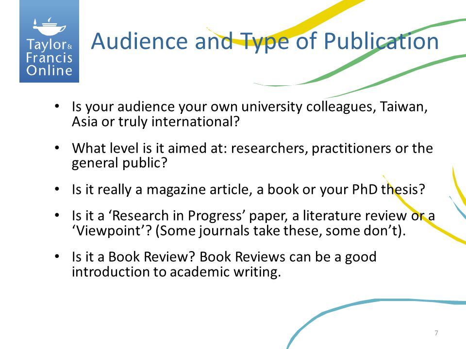 18 Abstracts can be vital to getting your paper read!