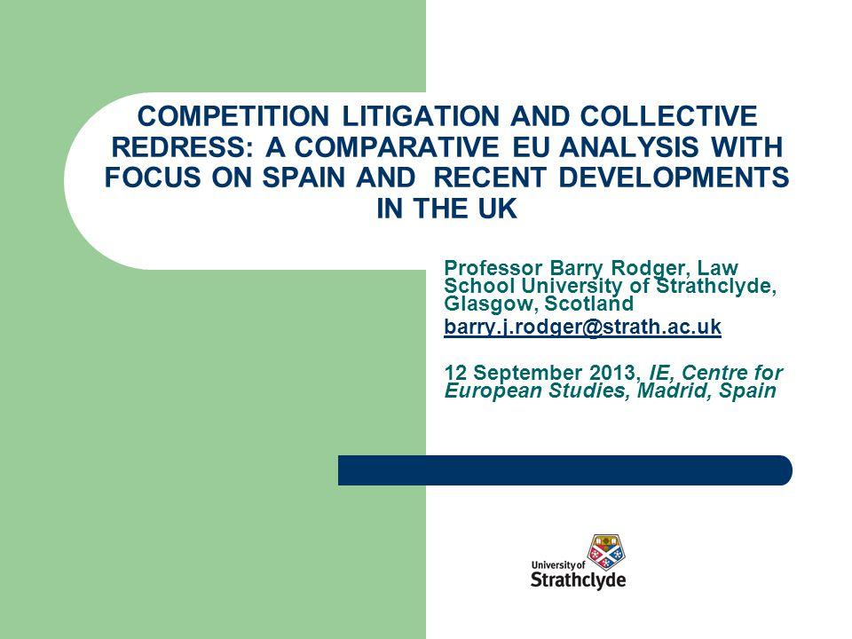 Institutional Background Legislative background Specialist Court/Tribunal.