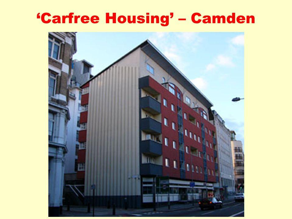 'Carfree Housing' – Camden