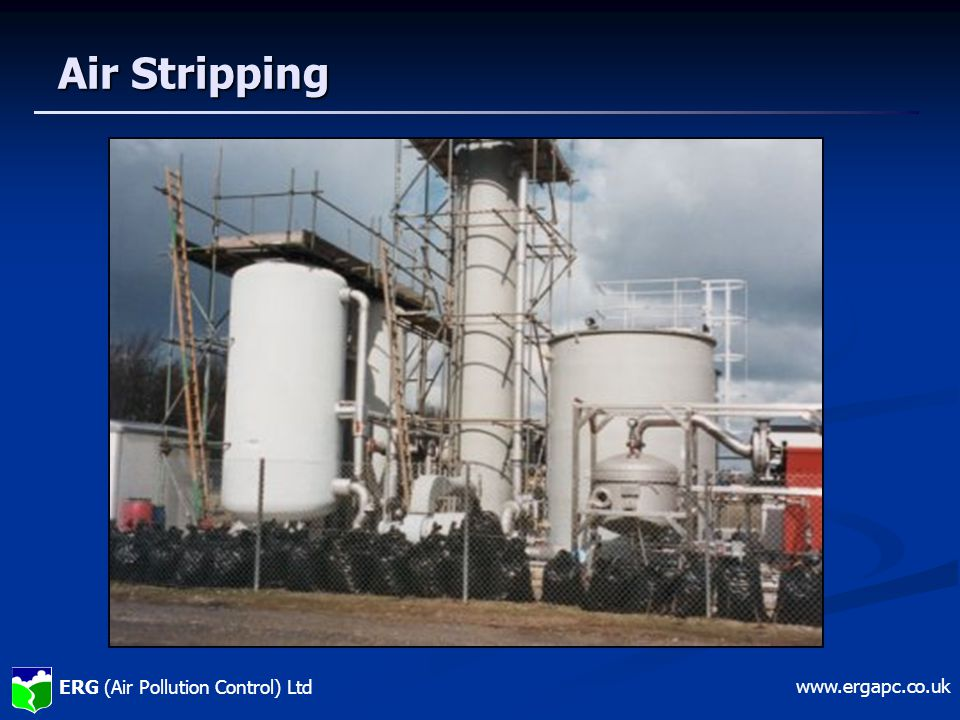 ERG (Air Pollution Control) Ltd www.ergapc.co.uk Air Stripping
