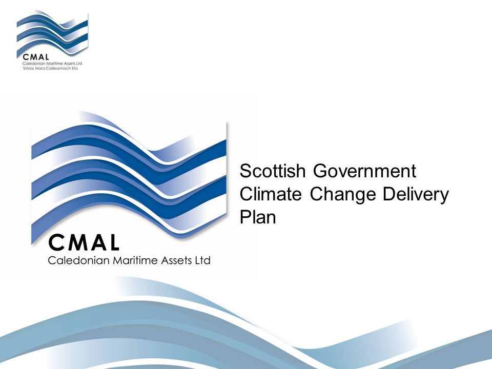 Scottish Government Climate Change Delivery Plan
