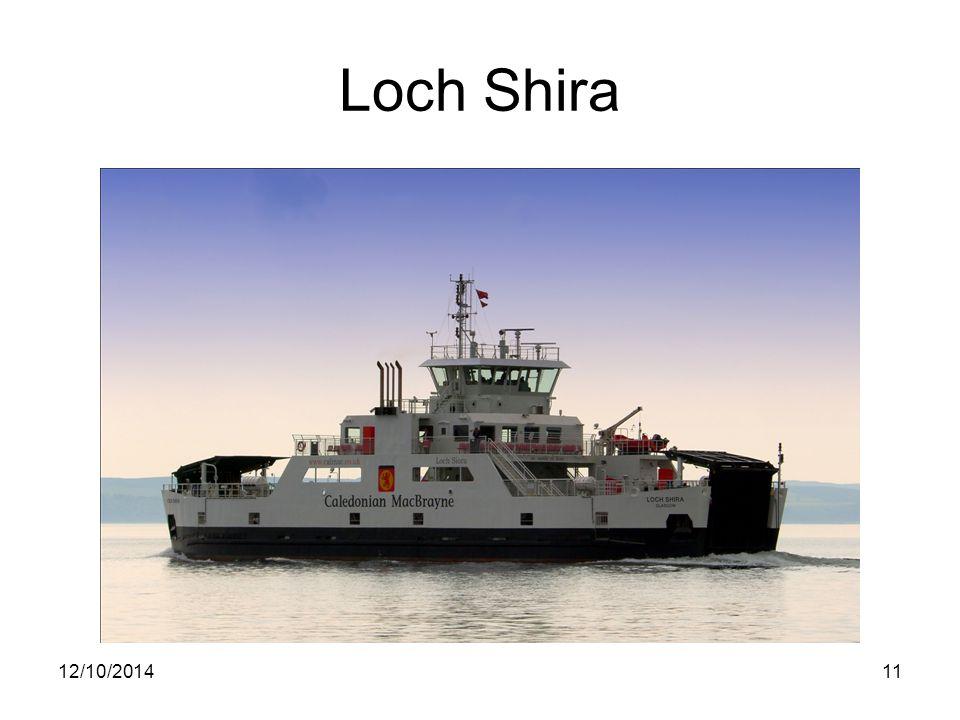 Loch Shira 12/10/201411