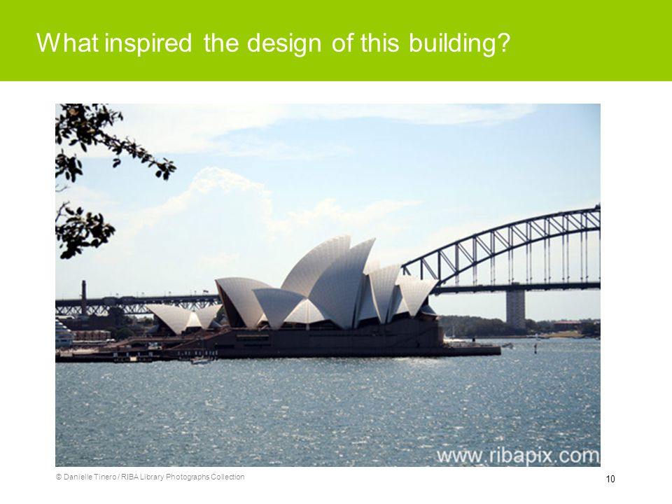 10 What inspired the design of this building? © Danielle Tinero / RIBA Library Photographs Collection