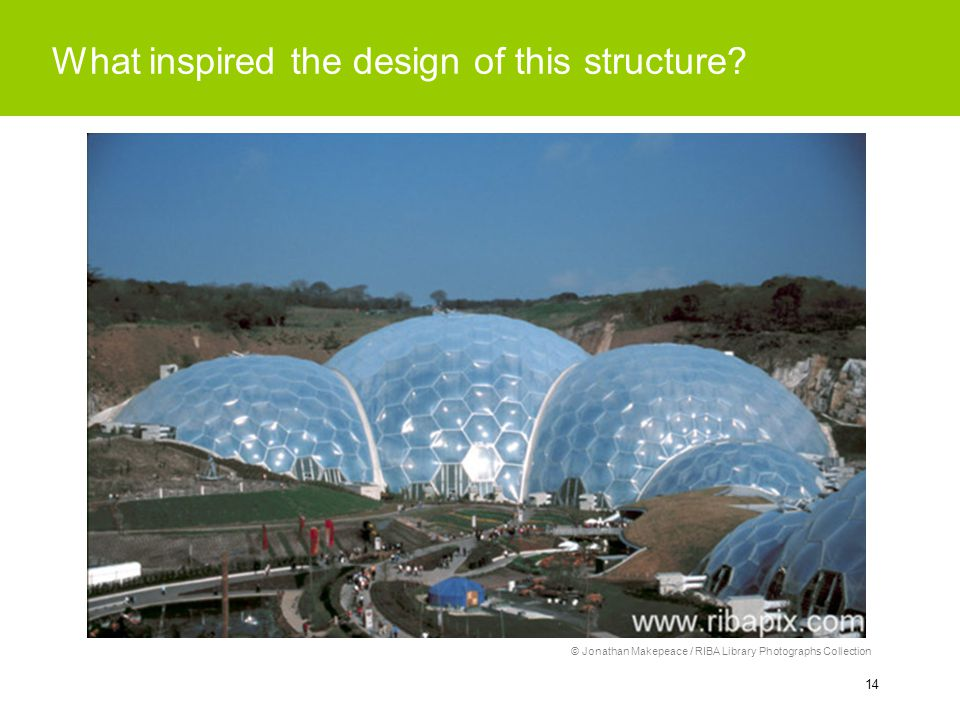 14 What inspired the design of this structure.