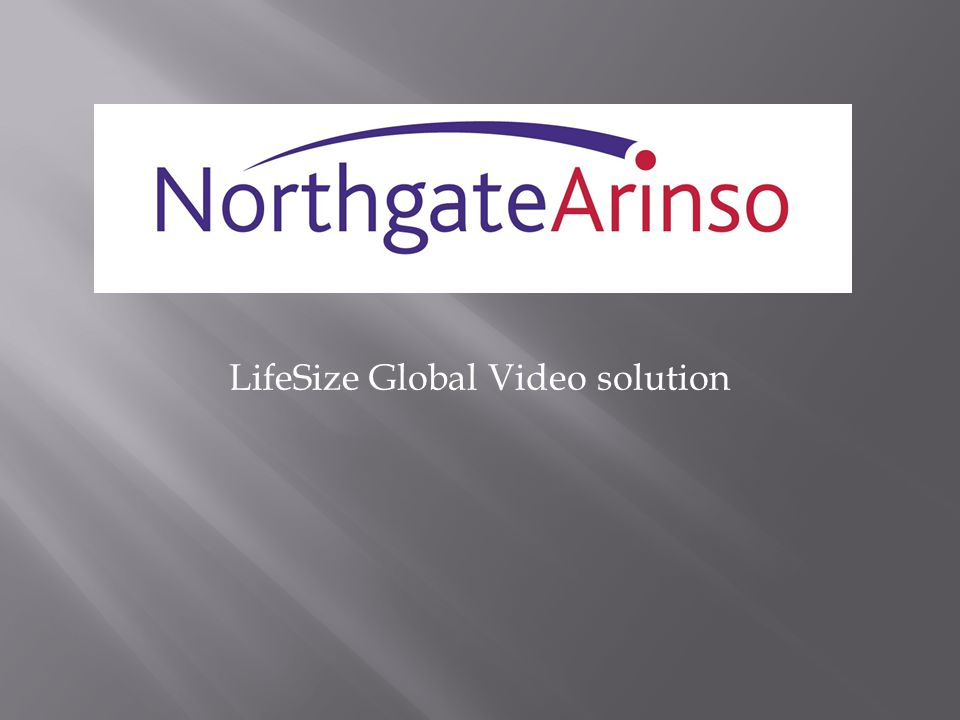 LifeSize Global Video solution