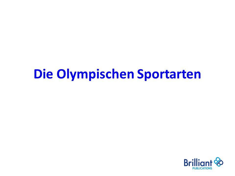 Die Olympischen Sportarten