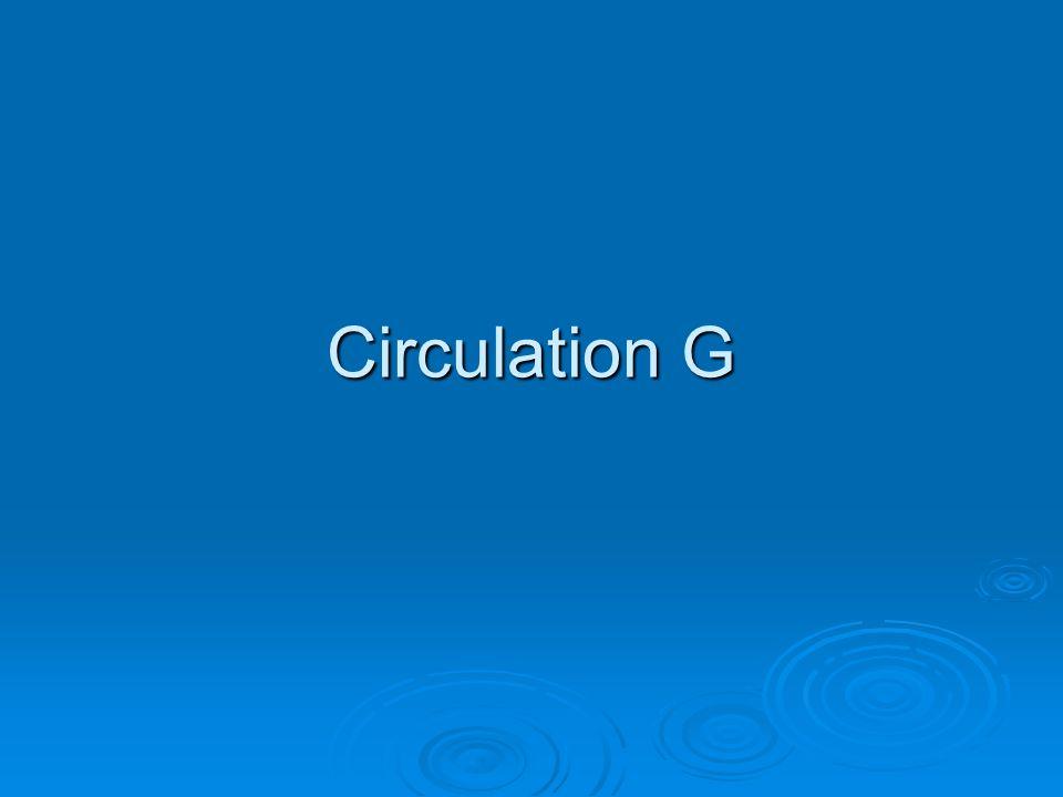 Circulation G