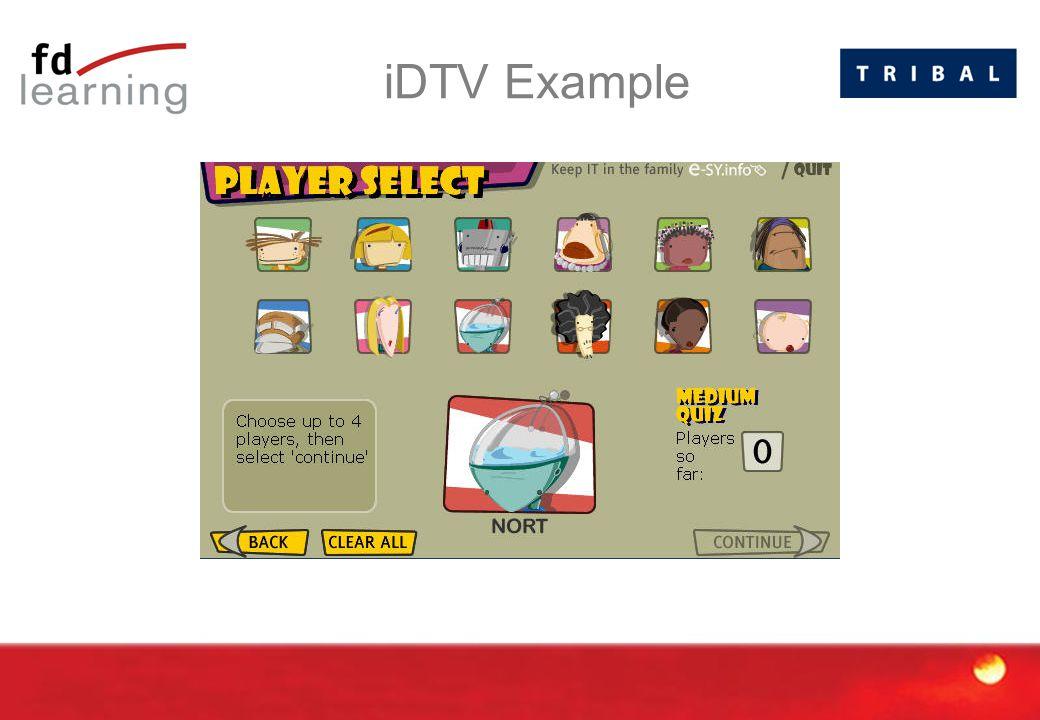 iDTV Example