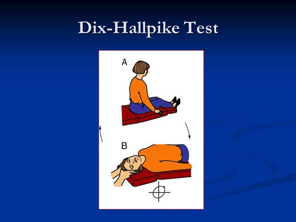 Dix-Hallpike Test