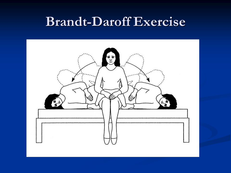Brandt-Daroff Exercise