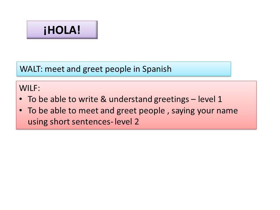 EXTENSION.Asking for someone's name & saying your name ¿Como te llamas.