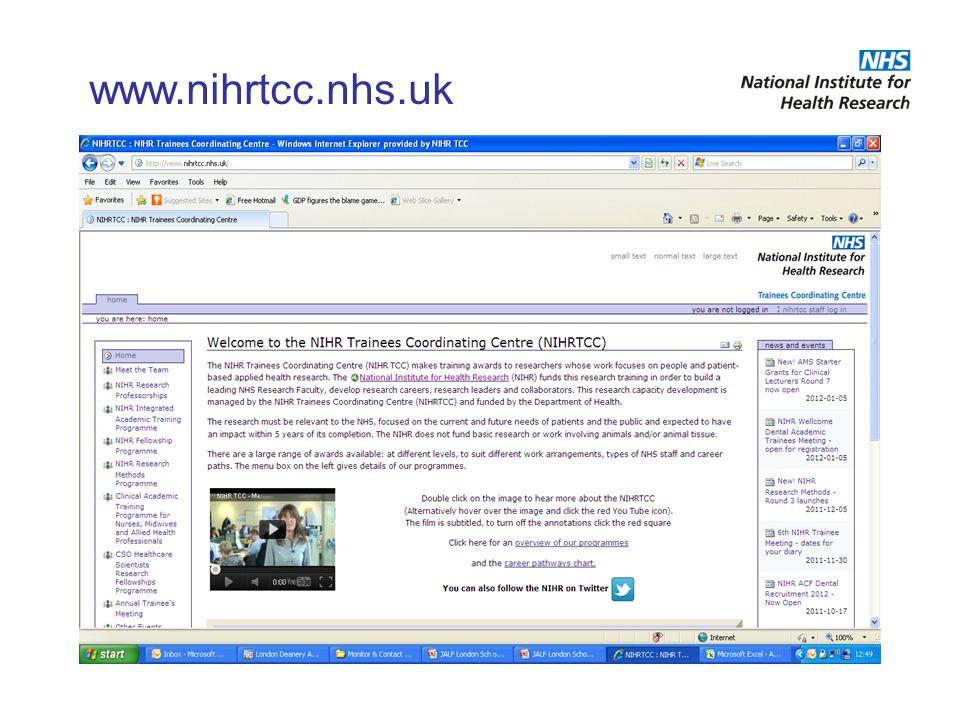 www.nihrtcc.nhs.uk