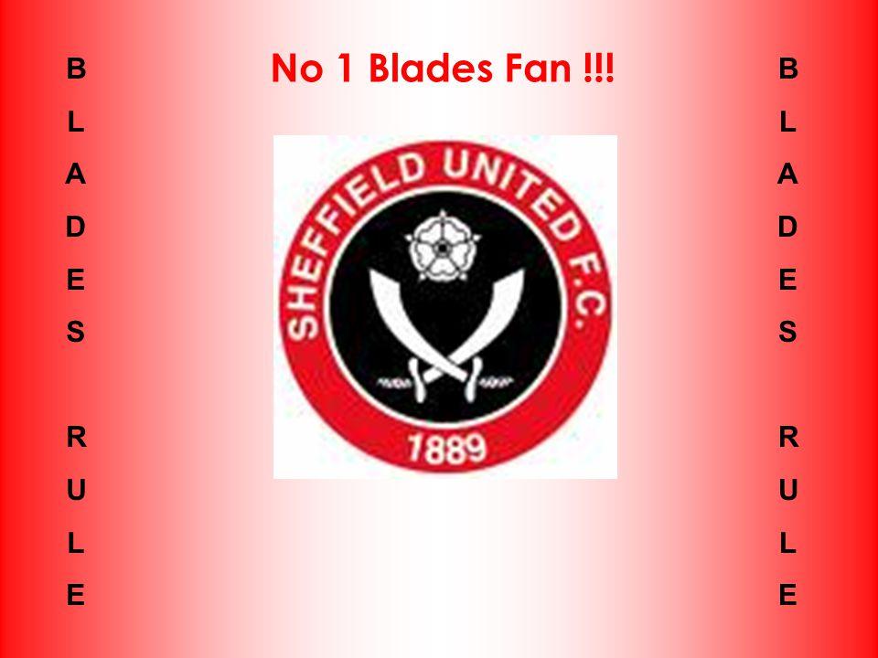 BLADESRULEBLADESRULE No 1 Blades Fan !!! BLADESRULEBLADESRULE