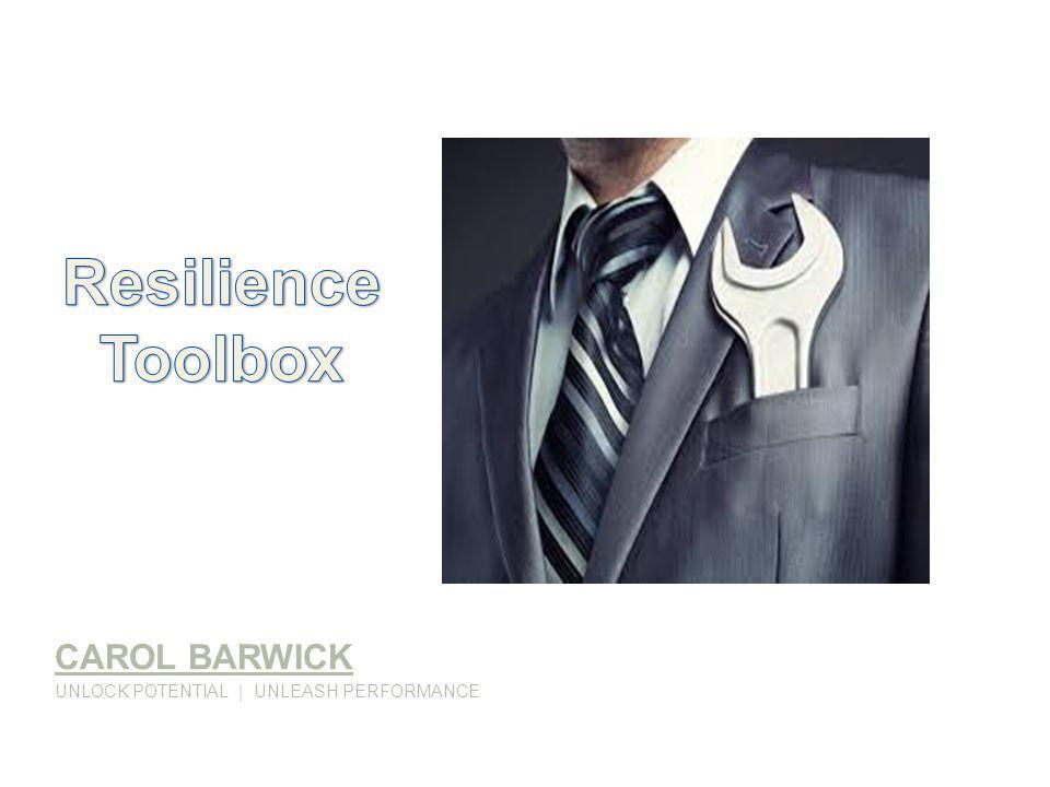 CAROL BARWICK UNLOCK POTENTIAL   UNLEASH PERFORMANCE