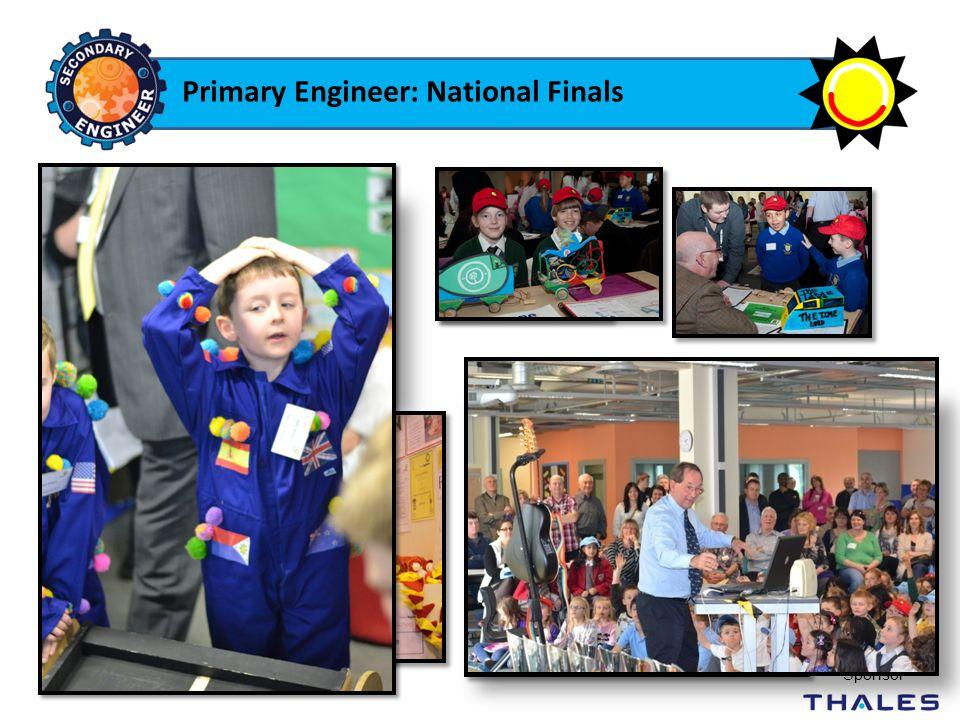 Primary Engineer: National Finals National Final Sponsor