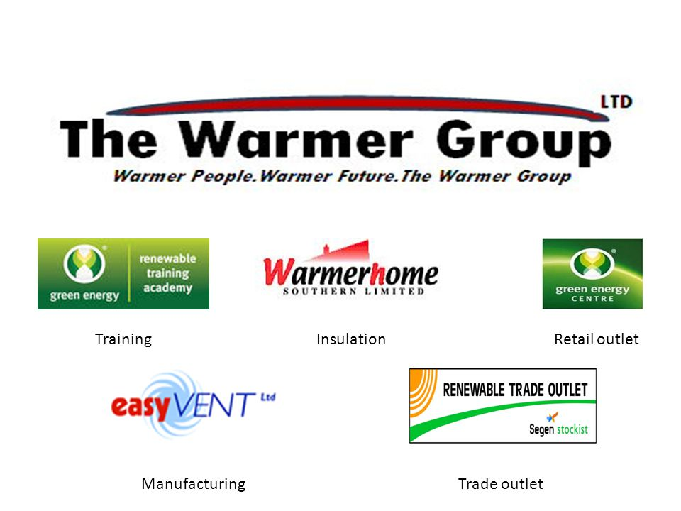 TrainingInsulationRetail outlet ManufacturingTrade outlet
