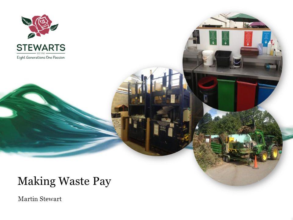 Making Waste Pay Martin Stewart