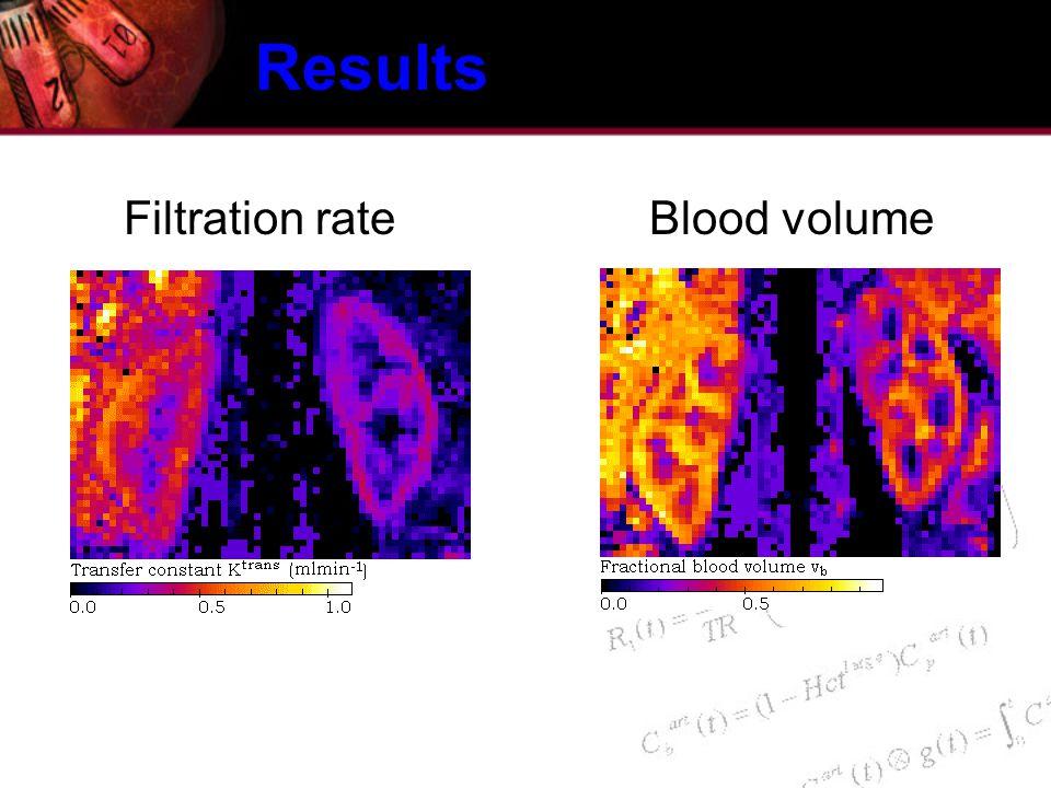 Filtration rateBlood volume