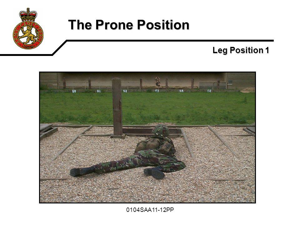 0104SAA11-12PP The Prone Position Leg Position 1