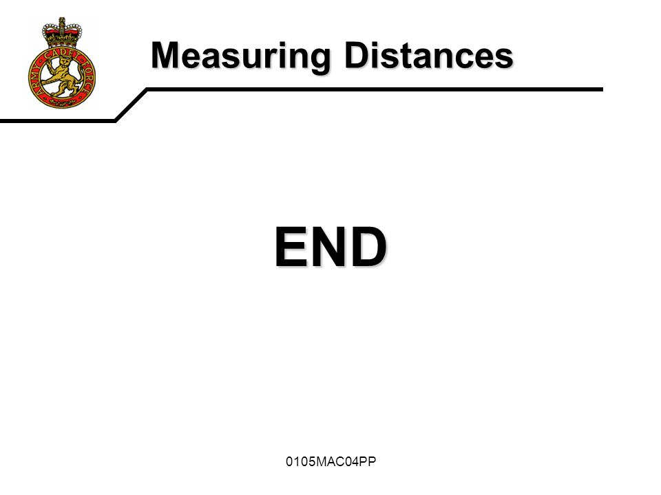 0105MAC04PP Measuring Distances END