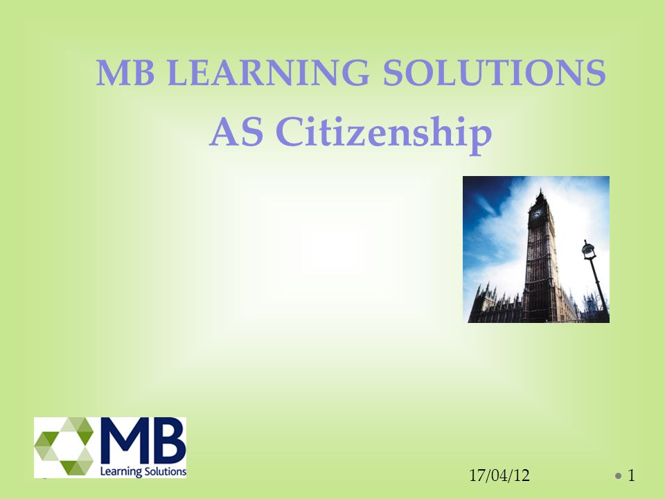 Why study A Level Citizenship.