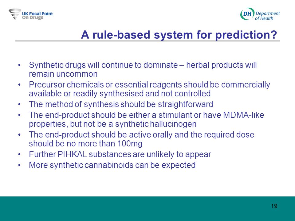 19 A rule-based system for prediction.