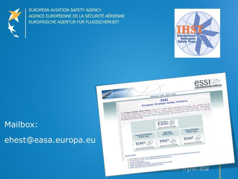 Mailbox: ehest@easa.europa.eu