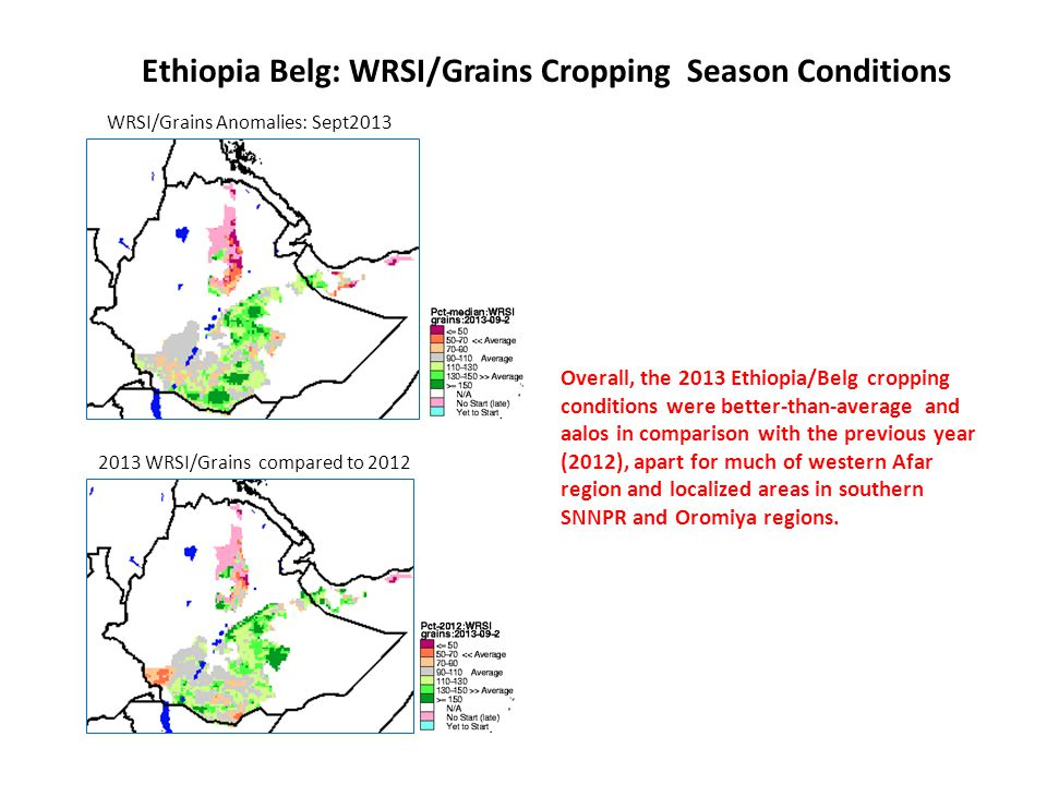 Delayed onset and erratic rainfall performance during the short-rains season, has negatively impacted on the rangeland conditions for the areas highlighted in red on the map: Northern and parts of eastern Kenya.