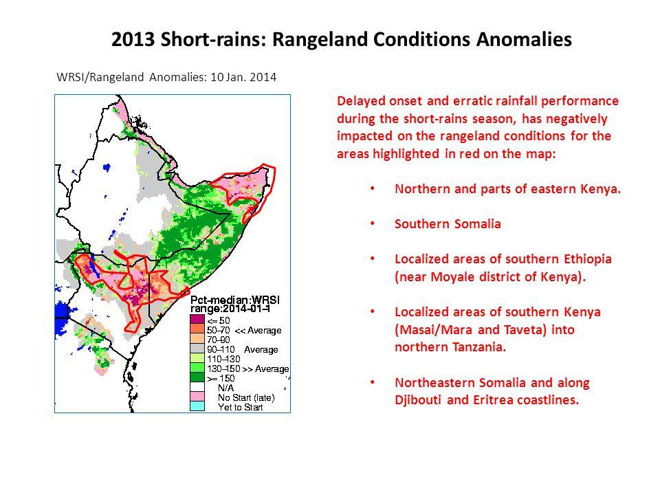 1- 2 weeks GFS/Rainfall Forecast Sunny and dry conditions across Uganda, Kenya and Somalia as the short-rains end.