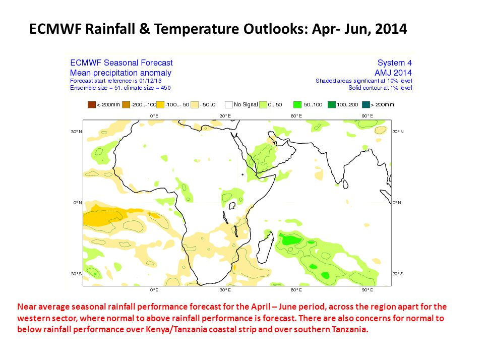 CFSv2 Rainfall Outlooks ENSO neutral and weak IOD conditions are expected to continue this year, for the forecast duration shown in these maps.