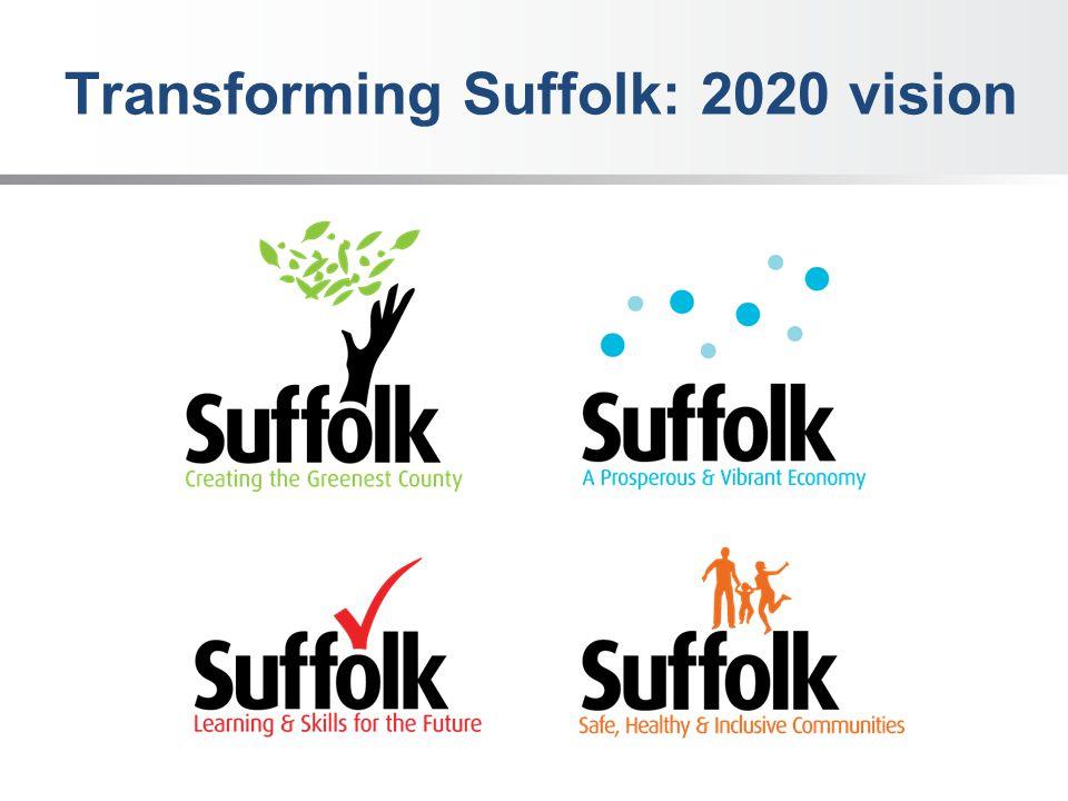Transforming Suffolk: 2020 vision