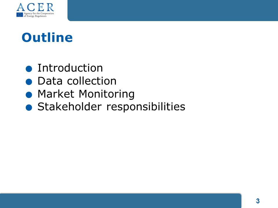 24 3 rd edition of ACER's guidance is now available, including inter alia clarifications on registration New chapter: Registration of market participants – Chapter 4 Role of NRAs in the registration process Which market participants are obliged to register.
