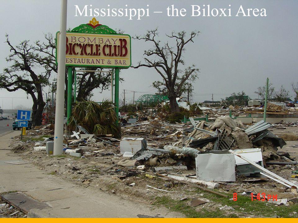 Mississippi – the Biloxi Area